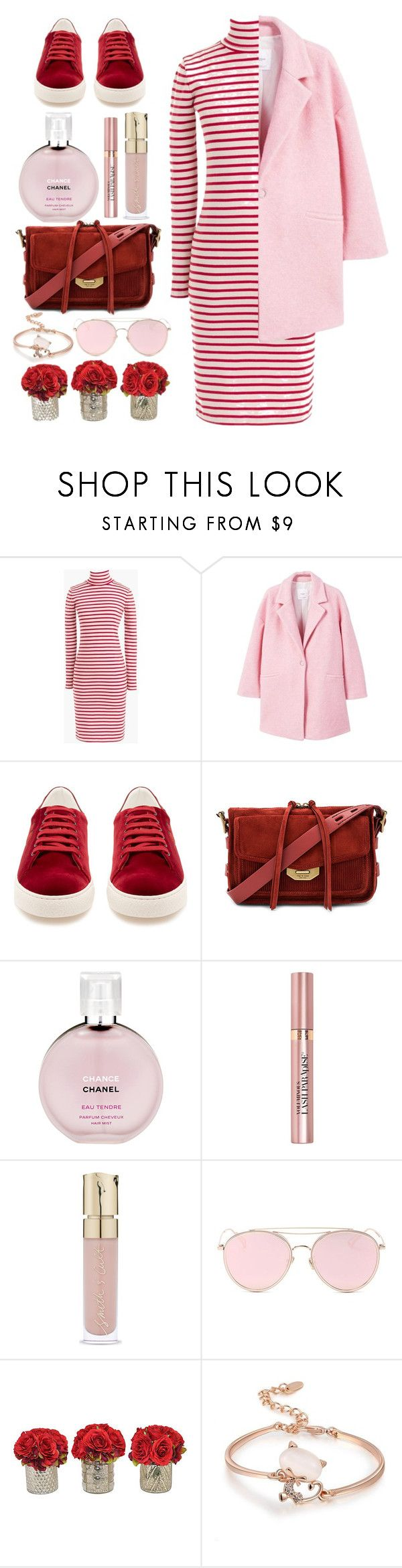 """""""Tuesday's Look"""" by eversmile ❤ liked on Polyvore featuring J.Crew, MANGO, Anya Hindmarch, rag & bone, Chanel, L'Oréal Paris, Smith & Cult, LMNT and The French Bee"""
