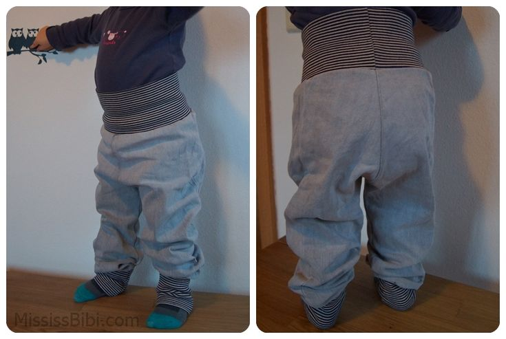 Kinderhose aus alter Jeans / Toddlers' pants made from old pair of jeans / Upcycling