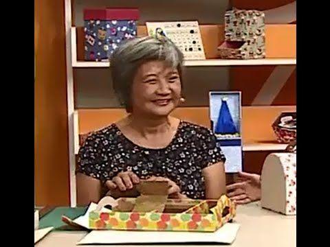 Cartonagem em Bandeja com Alice Yozhiyoka   Vitrine do artesanato na TV - YouTube