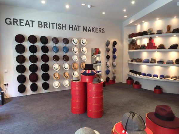 Christys' Hats Store - Seven Dials -Inside view
