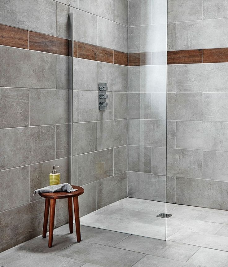 The 25+ best Grey bathroom tiles ideas on Pinterest | Grey large ...