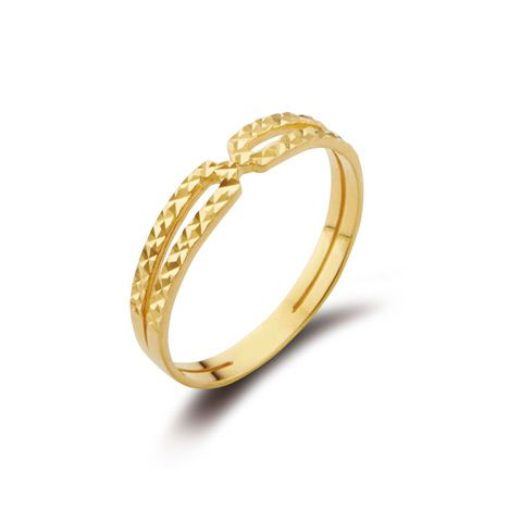 GOLD PRISM II RING