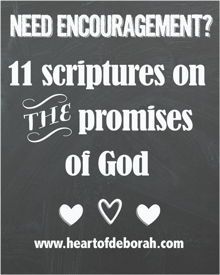 When I feel trapped in the comparison game or feeling on edge, I turn to His word for comfort. Here are 11 scriptures on the Promises of God.