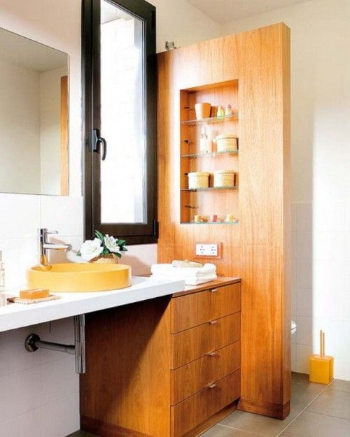 25 Cool Ideas To Place Shelves In Niches | Shelterness