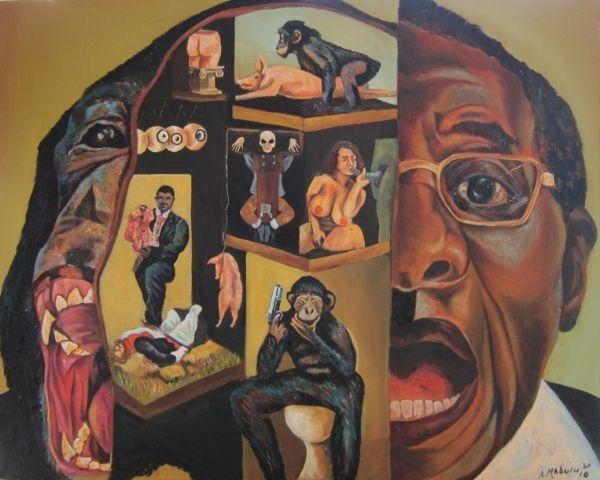 Image result for ayanda mabulu paintings