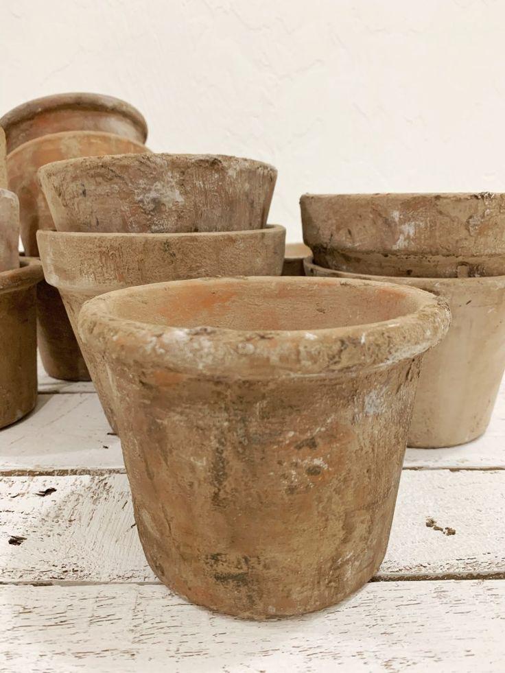 Aging terra cotta pots in 2020 aging terra cotta pots