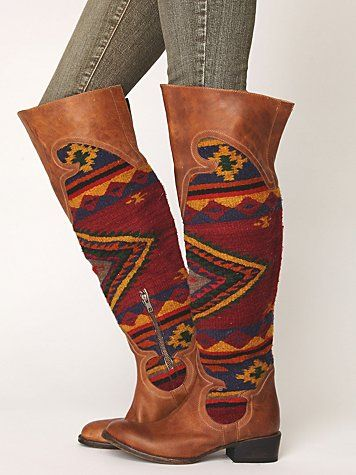Caballero Tall Boot: Caballero Tall, Fashion Shoes, Tall Boots, Steven Caballero, Westerns Boots, Free People, Cowboys Boots, Girls Shoes, Aztec Boots