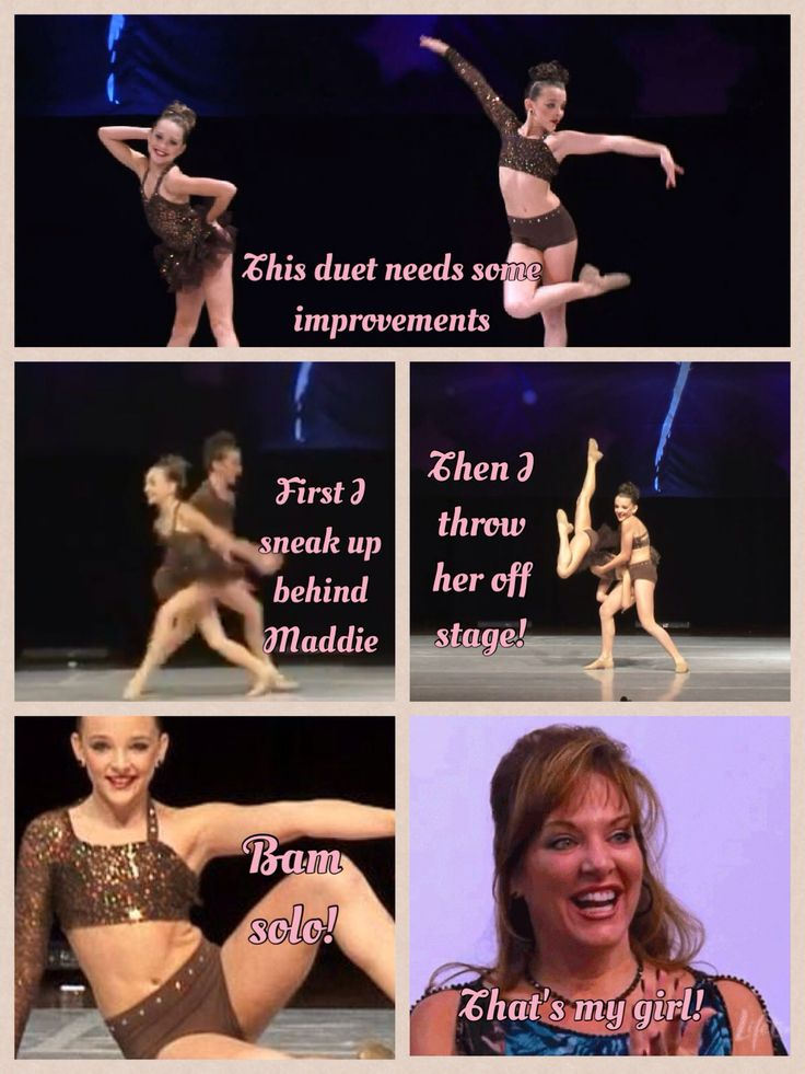 Dance moms comic .This is hilarious.Jill might actually tell Kendall to do that.
