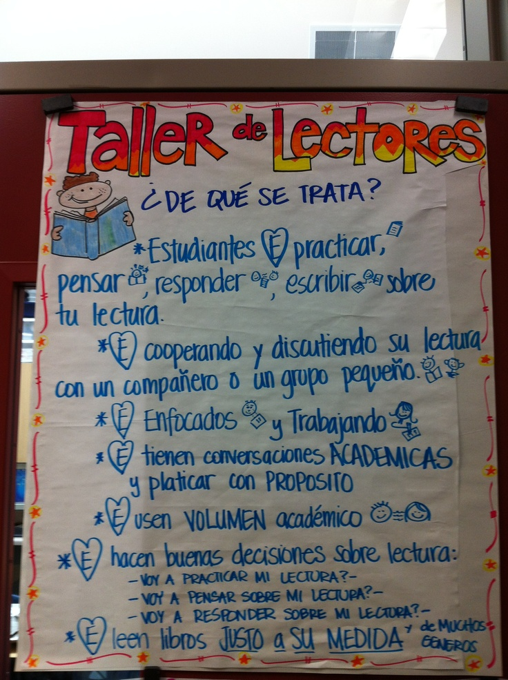 Taller de Lectores- translated