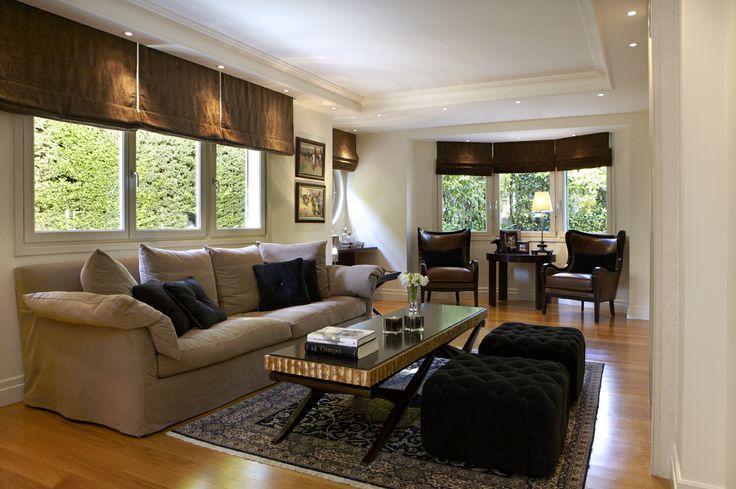 Sissy Raptopoulou-Interior designer. single house in Varkiza-Greece sitting room
