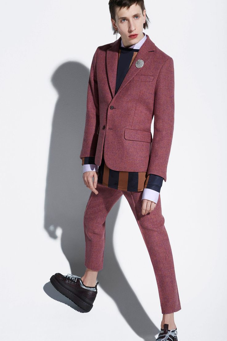 Acne Studios Fall 2015 (Bit strange but I quite like the colour injection in the jacket)