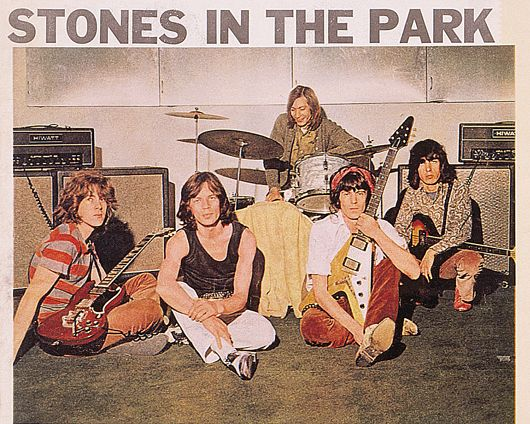 5.25 pm, Hyde Park, 5 July 1969 – A Moment That Defined A Band