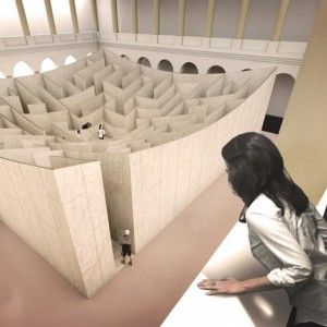 "Bjarke Ingels unveils ""BIG Maze"" for  Washington's National Building Museum"