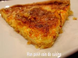 tarte carottes-navets boule d'or