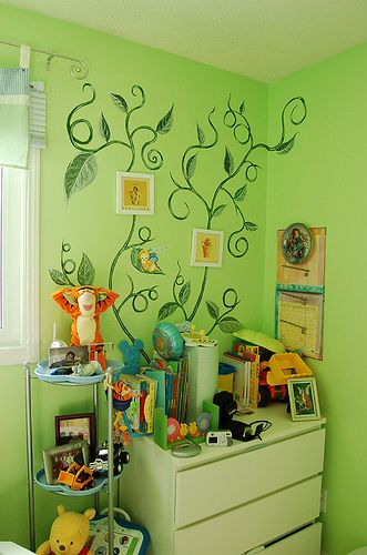 Would Like To Do These Vines Myself In Our Hallway Home