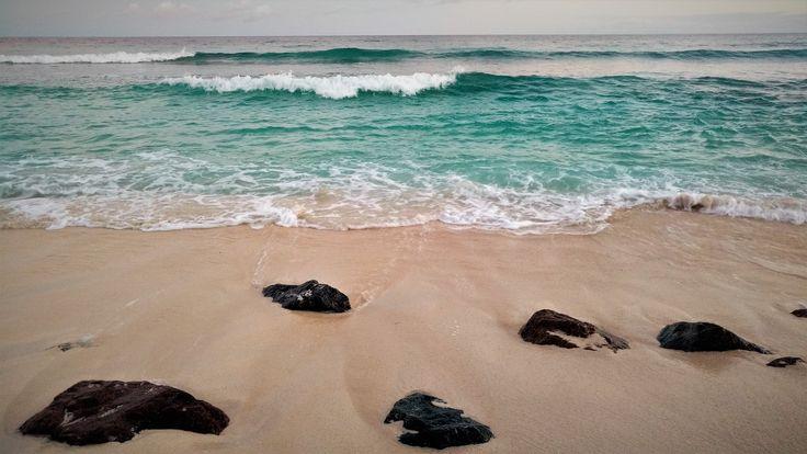 Plage de la Barbade lors du coucher du Soleil (photo personnelle)