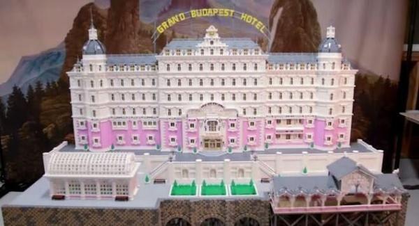 Grand Budapest Hotel - version LEGO
