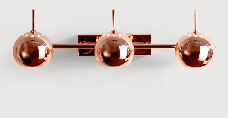Austin copper spotlights