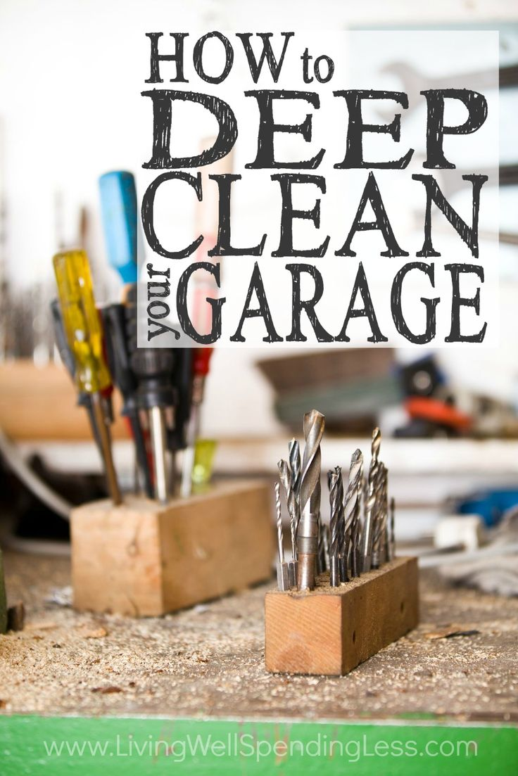 Ever feel like your garage has reached the point of no return?  We did too until one day we just couldn't it anymore!  Find out how we finally tamed the chaos in just six simple steps--and how you can too!