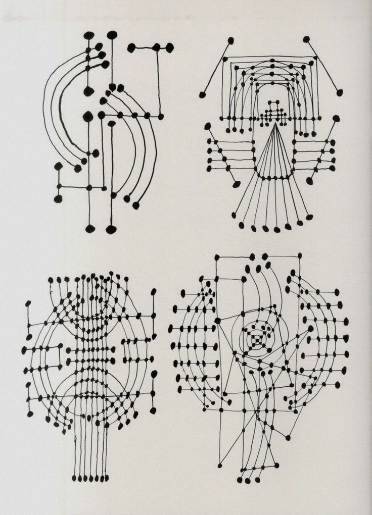 Constellation (ink drawing), 1931 by Pablo Picasso.