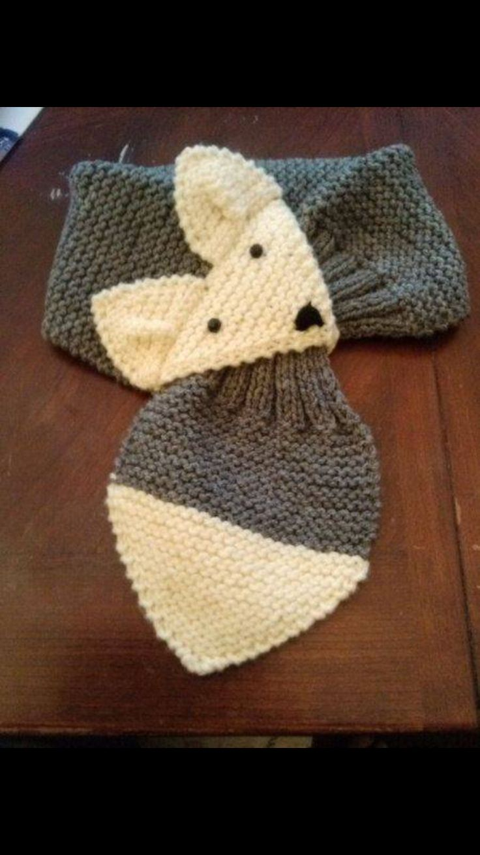 25 Best Ideas About Fox Scarf On Pinterest Knitting