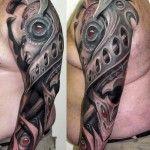 3D Men Arms Tattoo