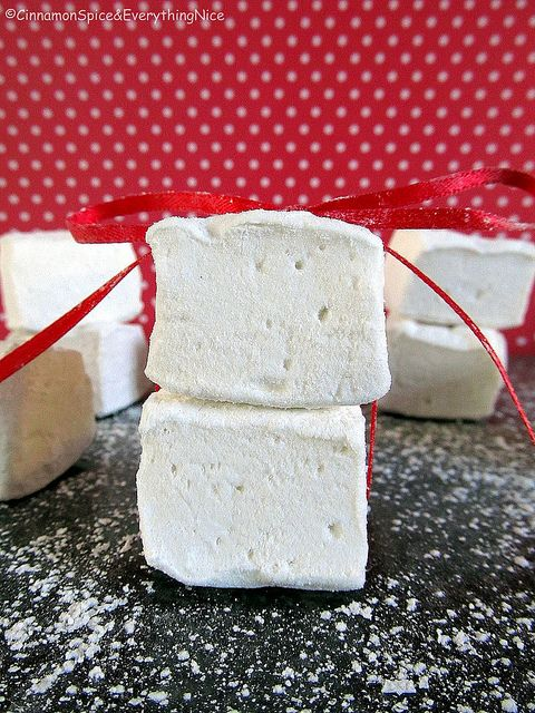 Homemade Marshmallows | Even if you don't like store bought ones... These will change your mind FOREVER