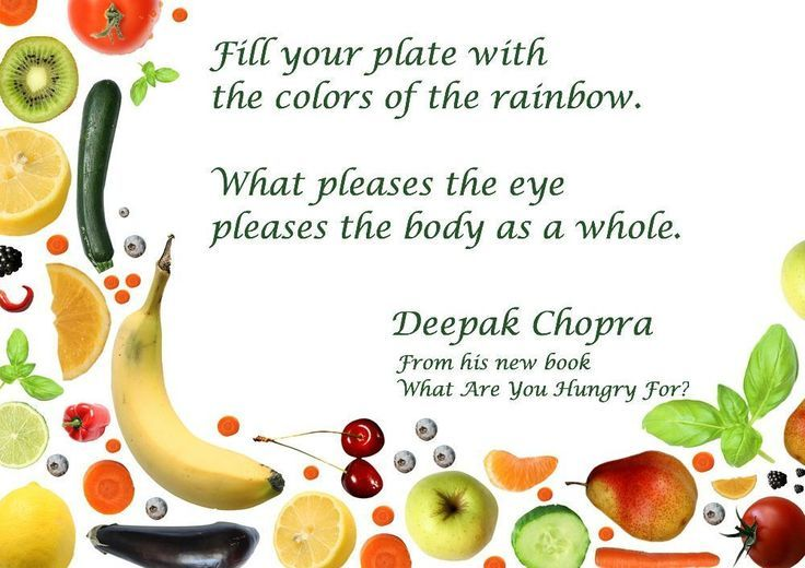 5 Inspiring Quotes to Change How You See Food from Deepak Chopra | The Crown Publishing Group