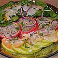 Fruits & fish salad