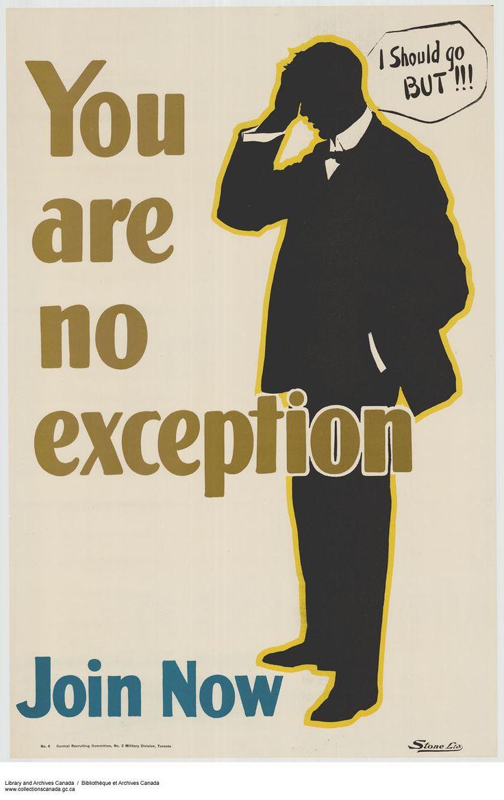 Canadian First World War, Enlistment & Propaganda Posters ...