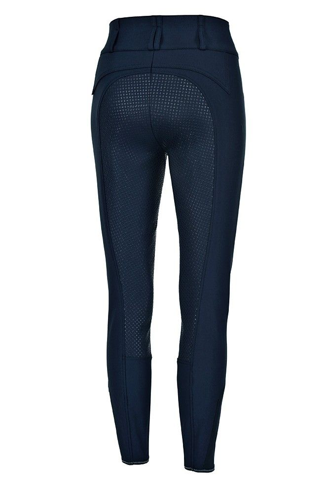 These beautiful high-waisted breeches are an absolute favourite here at Exclusively! Now sporting a fantastic grip seat, slanted front pockets and a soft close at the ankle this Best Seller just got even better!  These stylish breeches are available in Pikeurs Prestige-Micro 2000 plus fabric, a superbly comfortable multi-stretch cotton with micro-fibre. Just perfect to ride in! Colours Available : Night Blue, Dark Shadow and White Sizes : 38/UK8 to 46/UK16