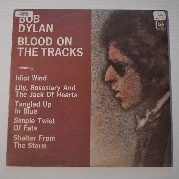 BOB DYLAN - BLOOD ON THE TRACKS - RHODESIA LP FIRST PRESS