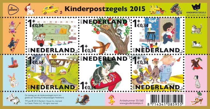 Heb je het al gehoord? De kinderpostzegels zijn uitgeroepen tot de meest favoriete postzegels van 2015! Onze postzegels met de vrolijke illustraties van de GoudenBoekjes hebben de meeste stemmen gekregen tijdens de jaarlijkse postzegelverkiezing van PostNL. En je kunt ze hier bestellen: www.kinderpostzegels.nl/bestellen