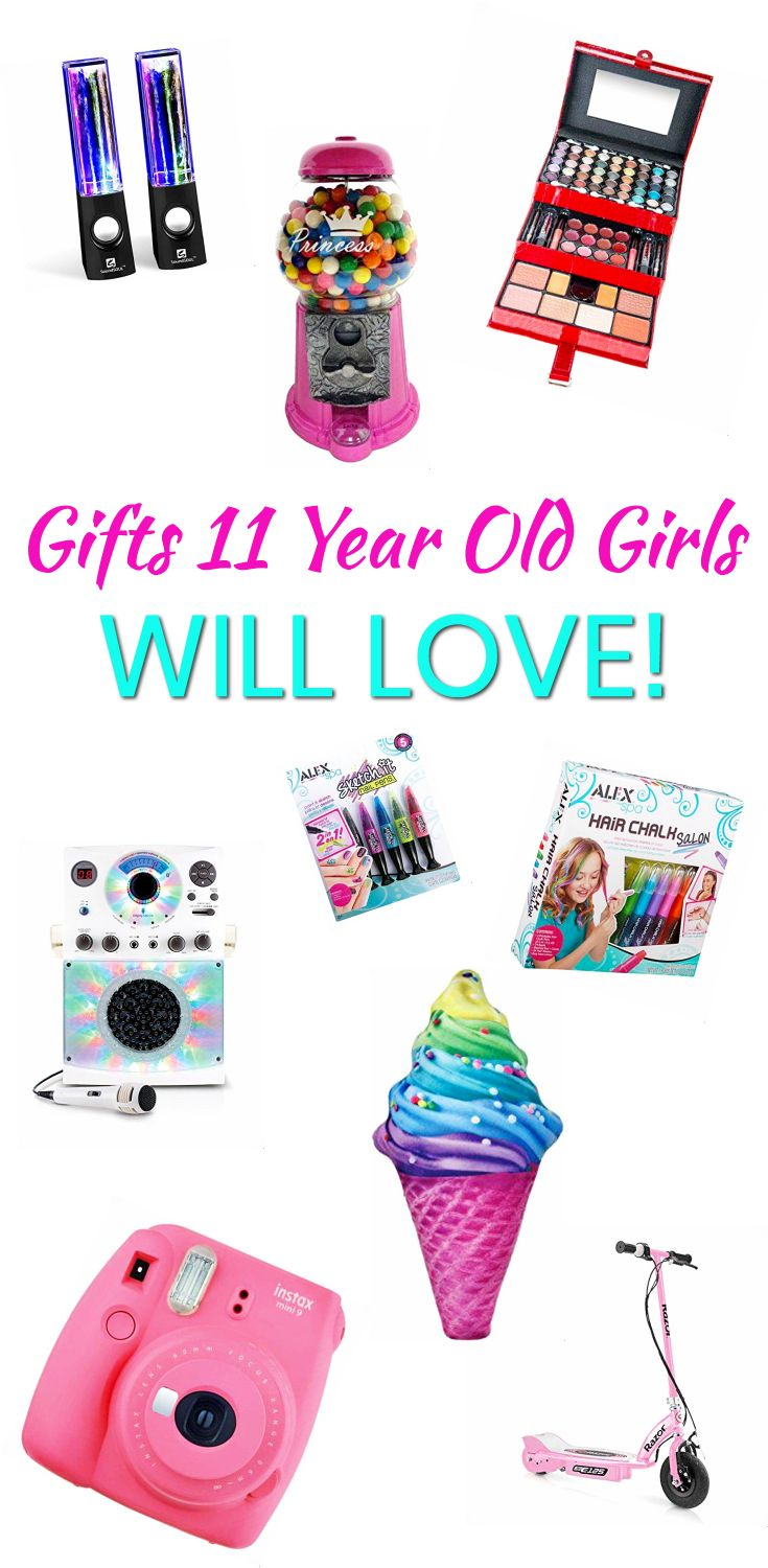 Gifts 11 Year Old Girls The Best Gifts For A 11 Year Old Girl Great For Birthdays Christmas Birthday Gifts For Girls Birthday Gifts For Teens Girl Birthday
