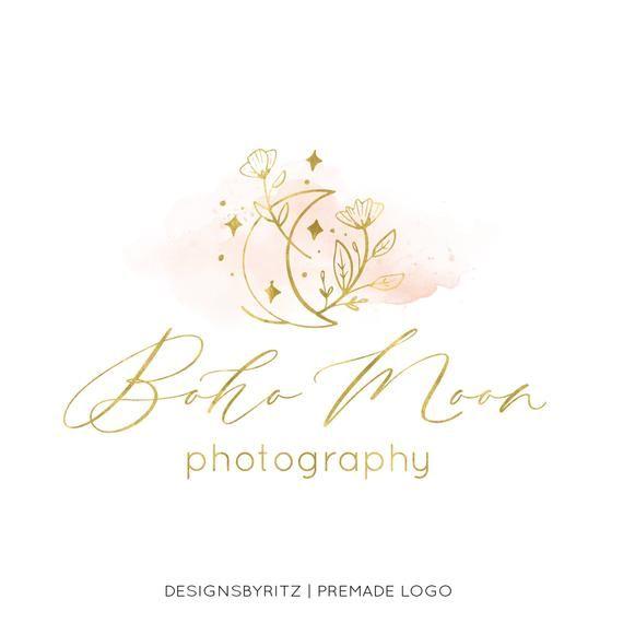 Photography Logo Logo Design Watercolor Logo Watercolour Ideias