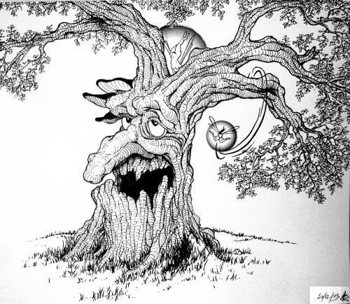 21 best images about dessins arbres anim s on pinterest - Dessins d arbre ...