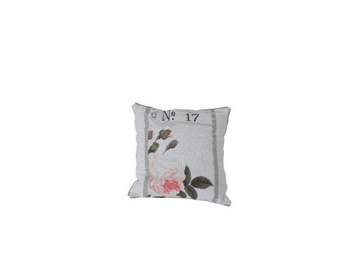 Pillow Shabby Chic with roses  Poduszka Shabby Chic z różami