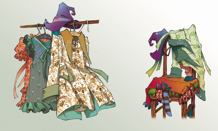 Fairy Oak-Vanilla's and Lavender's Wardrobe
