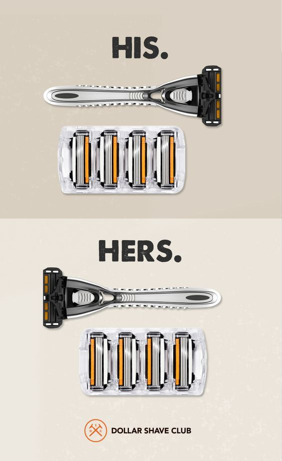 Stop overpaying for gimmicky razors. Dollar Shave Club delivers amazing razors and grooming products. Try Dollar Shave Club.