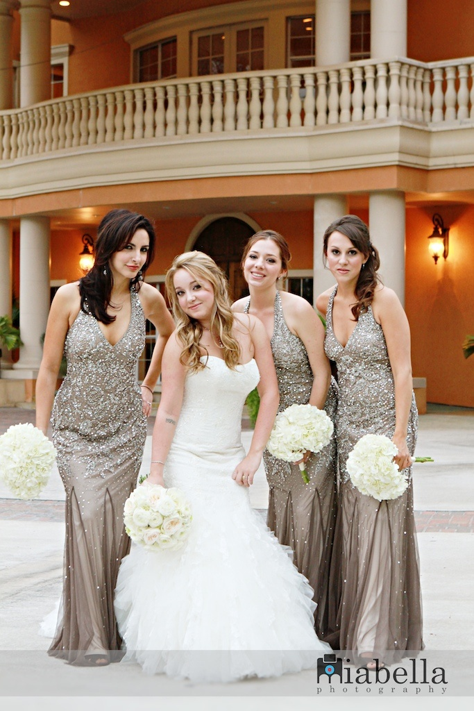 SPARKLY BRIDESMAID DRESSES - Yuman Dakren