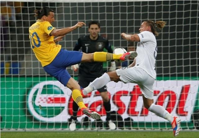 Euro Cup 2012 France Vs. Sweden: France Chokes Against Sweden.