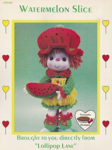Watermelon-Slice-Dumplin-Designs-Lollipop-Lane-Crochet-Doll-Pattern-CDC408-OOP
