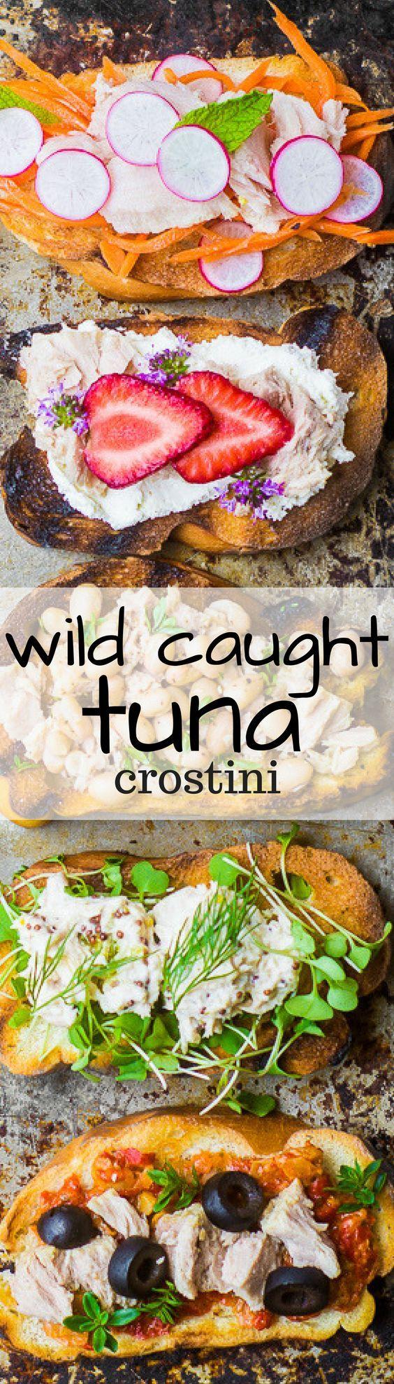 Wild Caught Tuna Crostini | The View from Great Island