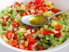 Apfel - Staudensellerie - Salat mit Kirschtomaten (Rezept mit Bild)   Chefkoch.de