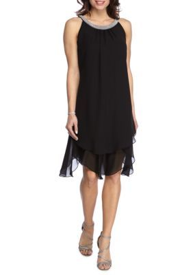 Dress for Women, Evening Cocktail Party On Sale, Black, Viscose, 2017, 10 14 Twin-Set