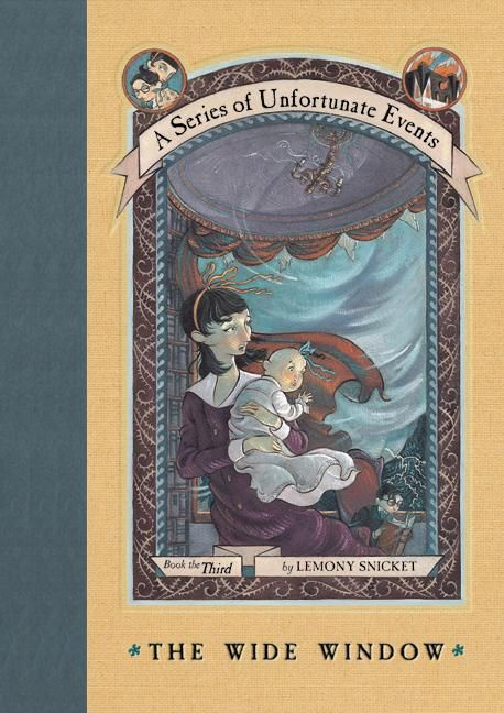 3.5 STARS ★ ★ ★ (½)   The Wide Window  is book #3 out of 13 books in the book series: A Series of Unfortunate Events  by Lemony Snicket ...