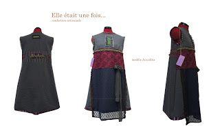Elle était une fois... confection artisanale France: Robe unique modèle Anoushka