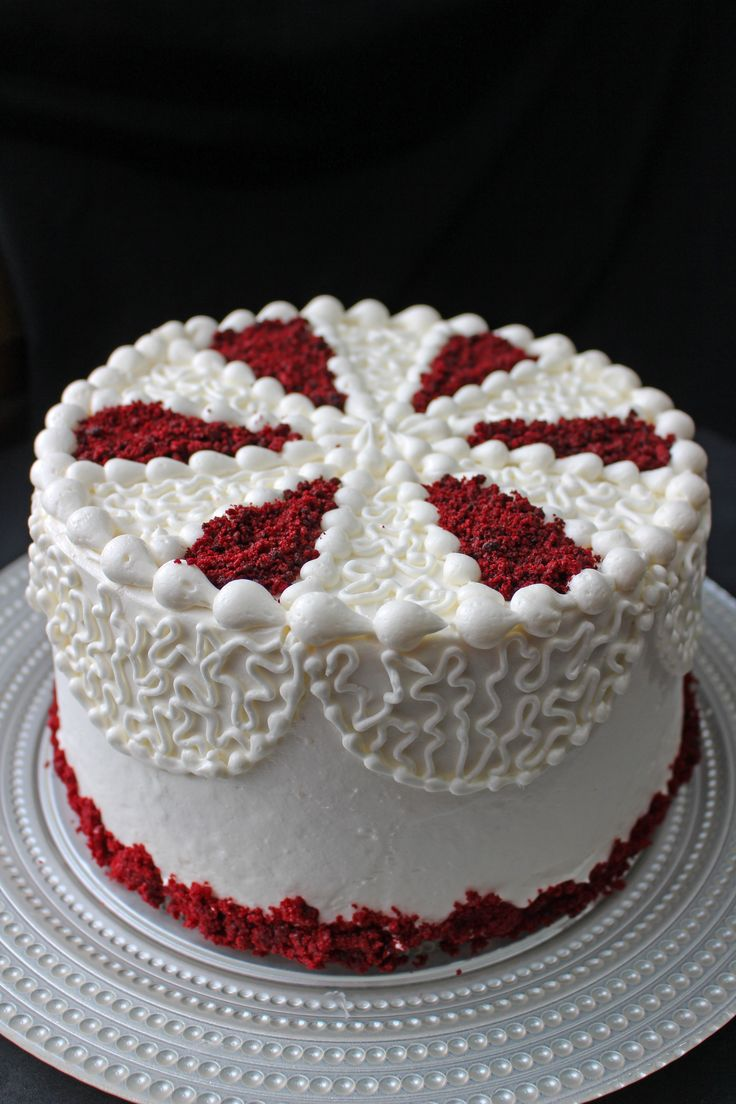 Red Velvet Layer Cake With Cream Cheese Frosting