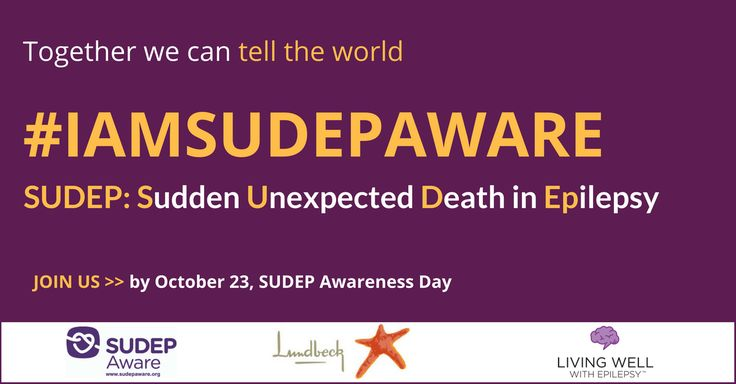 Lundbeck will donate $1 for every tweet (including RTs) using the hashtag #IAMSUDEPAWARE between September 23 through October 23 for a maximum donation of up to $5,000. Donations will be made directly to SUDEP Aware, a Canadian charity, founded in 2008 • #epilepsy #SUDEP
