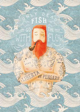 Sailor by Seaside Spirit | metal posters